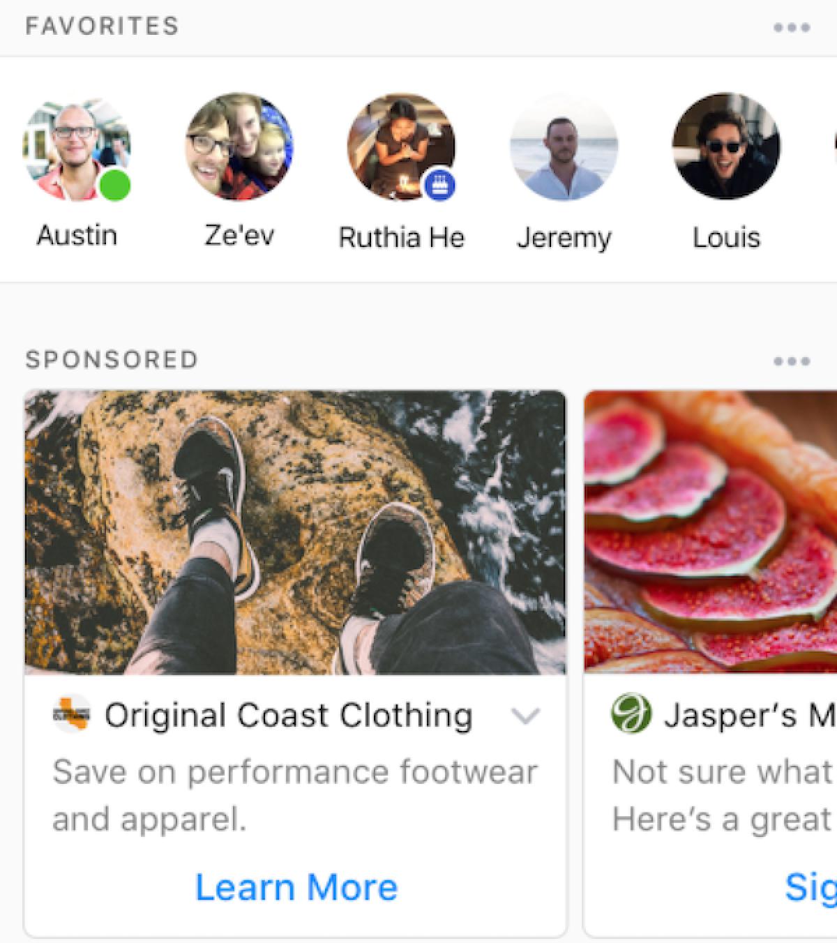 Facebook Begins Testing Ads in Messenger App Video ads