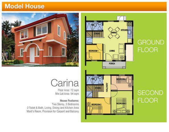 Camella Silang Carina Model Camella Model Homes Philippine