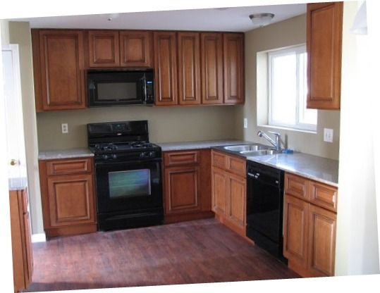 Best Design Of Kitchen Cabinets St. Louis With Black Oven ...