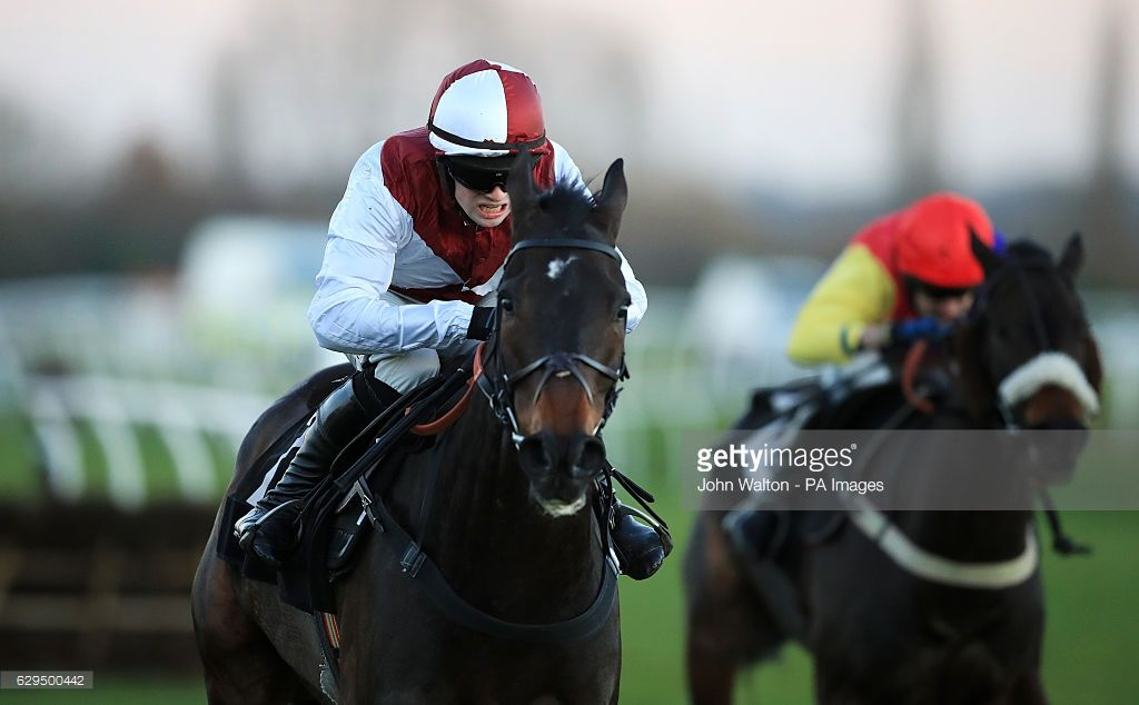 Joe Farrell ridden by jockey Jonathan Moore during the