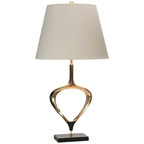 Nice Kathy Ireland Riverside Antique Brass Metal Table Lamp   #8D389 | Www. Lampsplus.