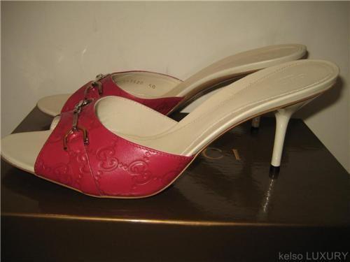 Gucci Slides Women Pink