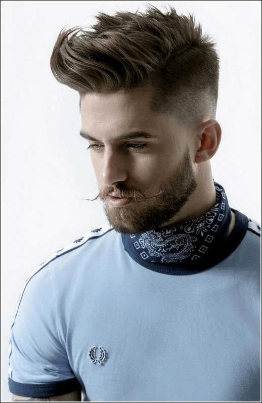 Gute Männerfrisuren Vollbart | Frisuren Männer Undercut | Pinterest