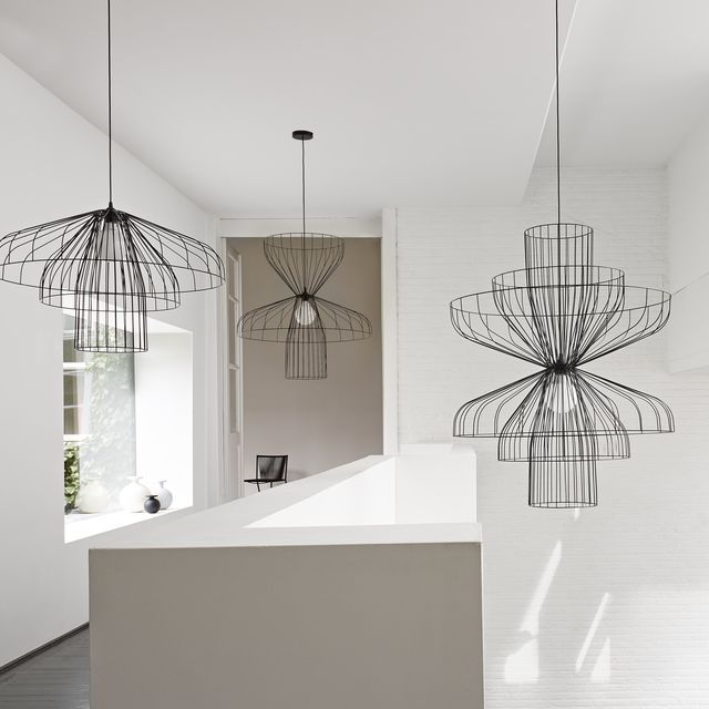 parachute luminaire cinna cuisine pinterest mobilier contemporain suspension et contemporain. Black Bedroom Furniture Sets. Home Design Ideas