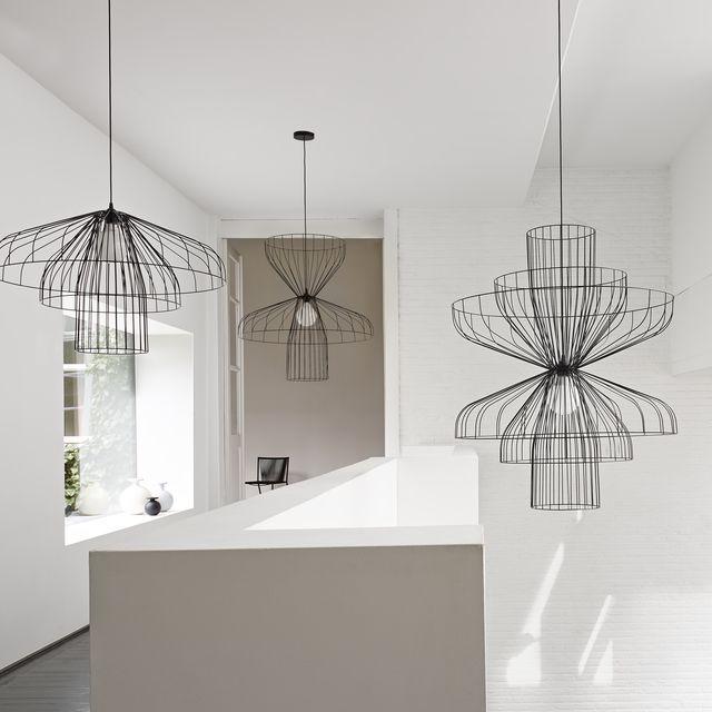 parachute luminaire cinna cuisine pinterest mobilier contemporain suspension et contemporain. Black Bedroom Furniture Sets. Home Design Ideas