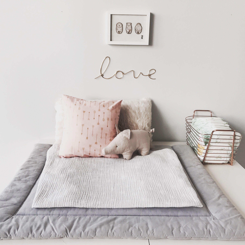 Vintage mädchen zimmer dekor wickelkommode babygirl mädchenzimmer  baby room  pinterest