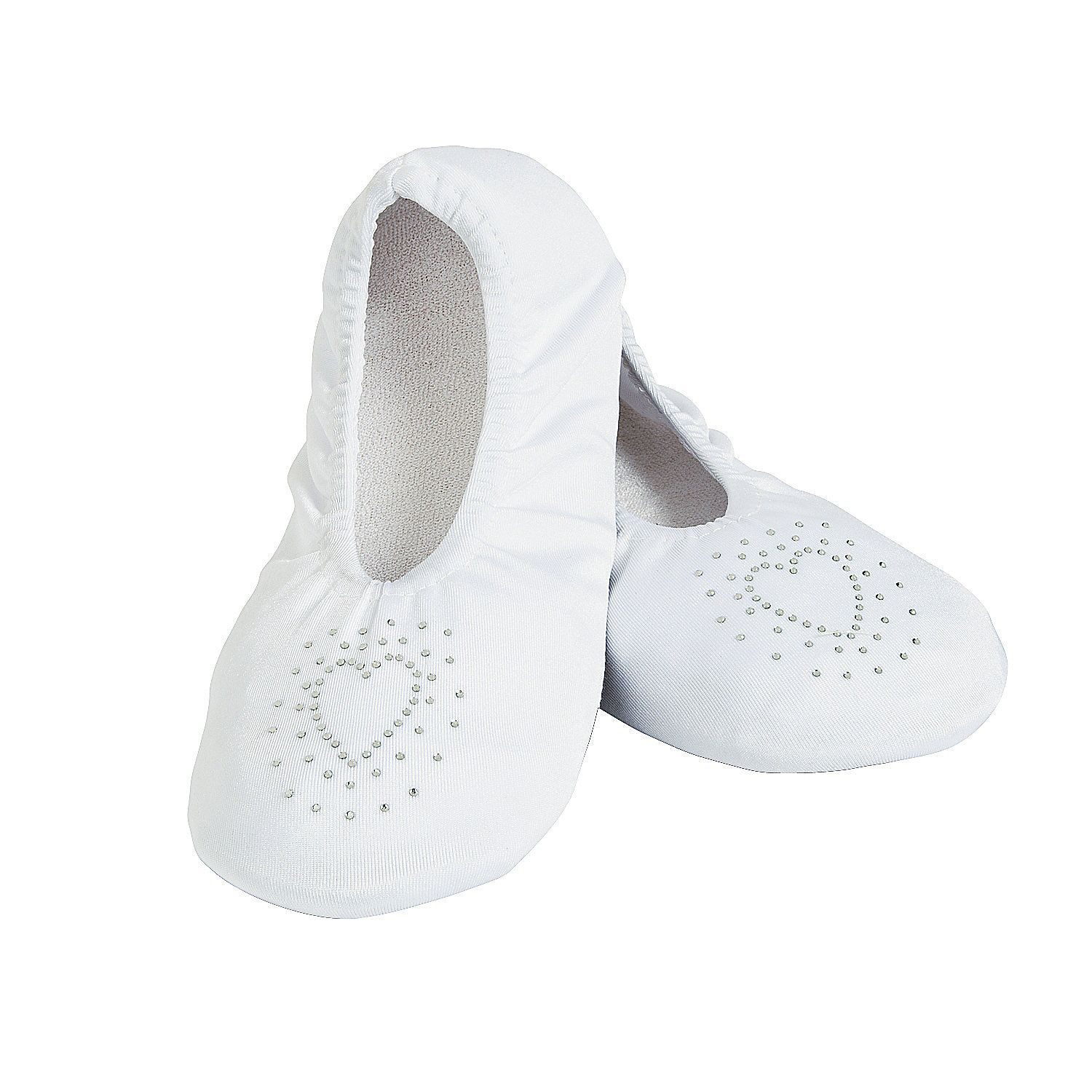 After A Long Day In Heels Kick Them Off And Dance At The Wedding Reception These White Slippers They Make Thoughtful Gifts For Your
