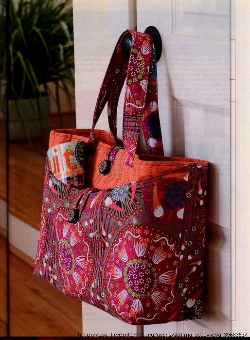 Free pattern   sewing   Pinterest   Taschen nähen, Nähen und Nähideen