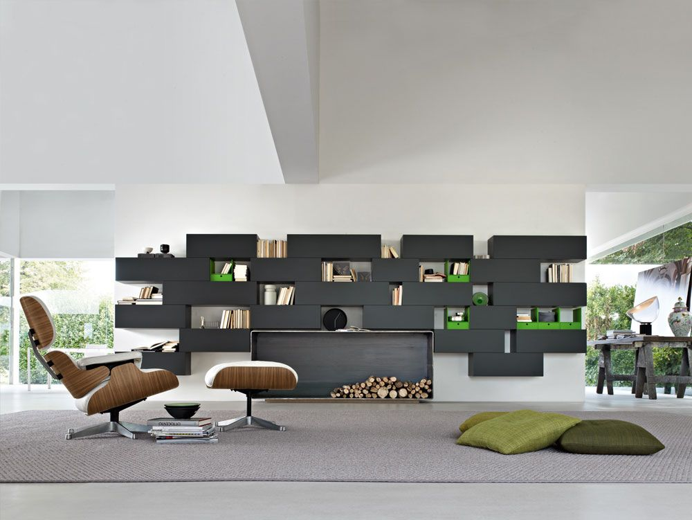 molteni wall shelf - Google-Suche | tv wall | Pinterest | Lounge ...