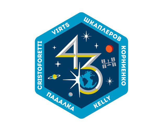 Space in Images - 2013 - 09 - ISS Expedition 43 patch, 2015