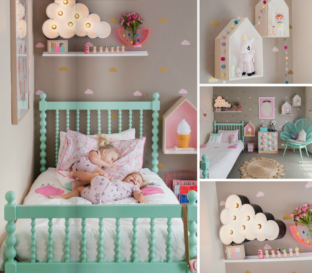 Awesome Oser Chambre Bebe Gris Pink Pictures - Amazing House ...