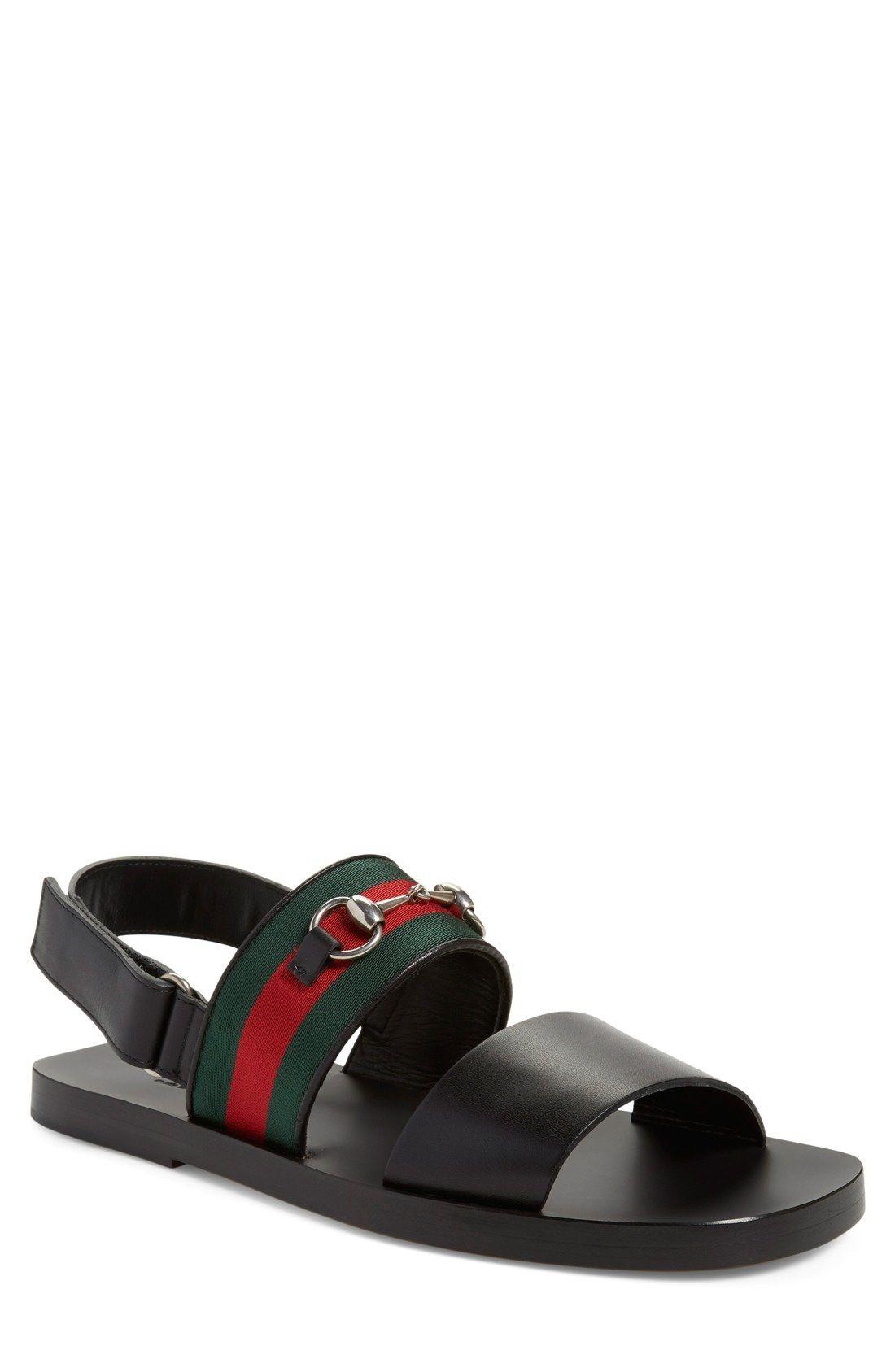 Gucci Twelve Strap Sandal Men Nordstrom Mens Sandals Gucci Mens Sandals Sandals