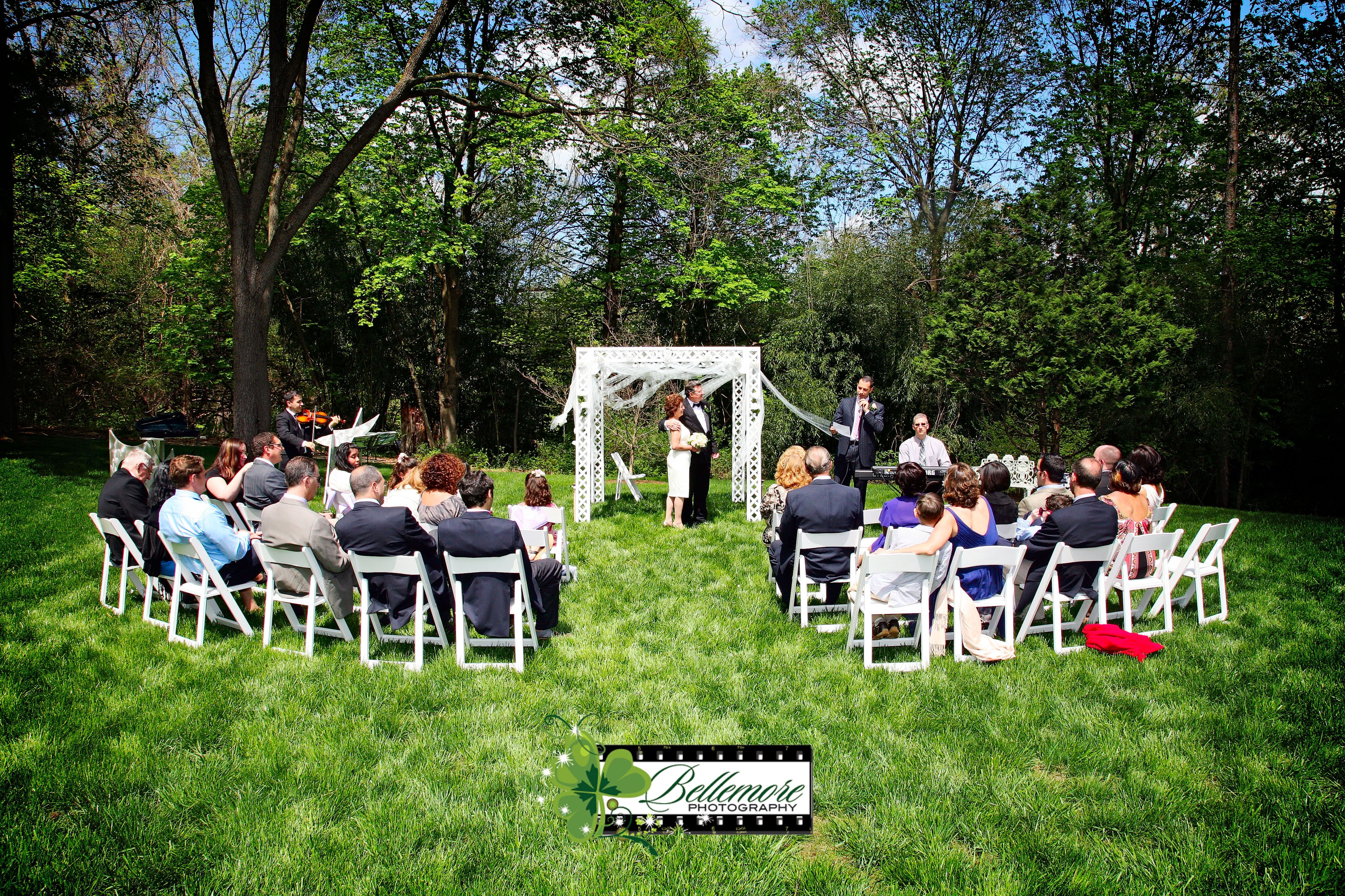 Small Backyard wedding. Doylestown, PA wedding photography ...