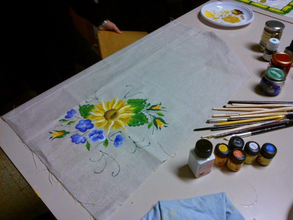 Pittura Su Tessuto Pittura Su Tessuto Dipingere Tessuto Tintura Tessuto