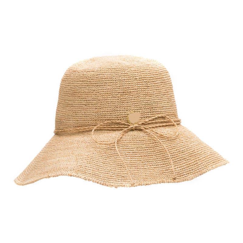 Orientnew Straw Bucket Hat Womens Natural Raffia Hat Fashion Hats Straw