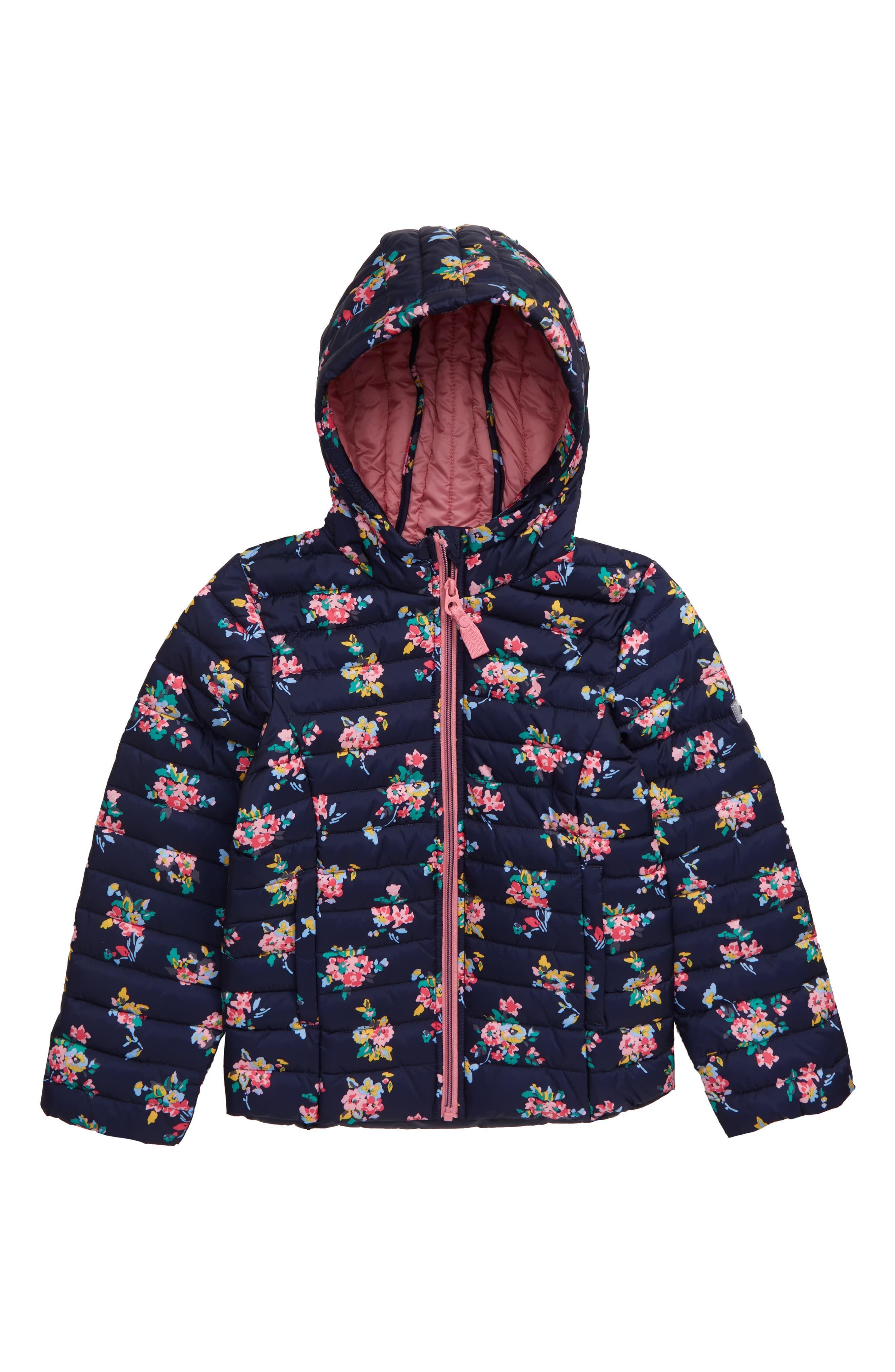 Toddler//Little Kids//Big Kids Joules Kids Mens Sherpa Lined Zip Through Hooded Sweatshirt