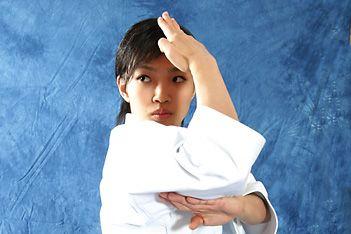 Rika Usami, Karate