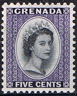 Grenada 1953 Queen Elizabeth Head SG 197 Fine Mint SG 197 Scott 176 More British Commonwealth Stamp items for sale Here