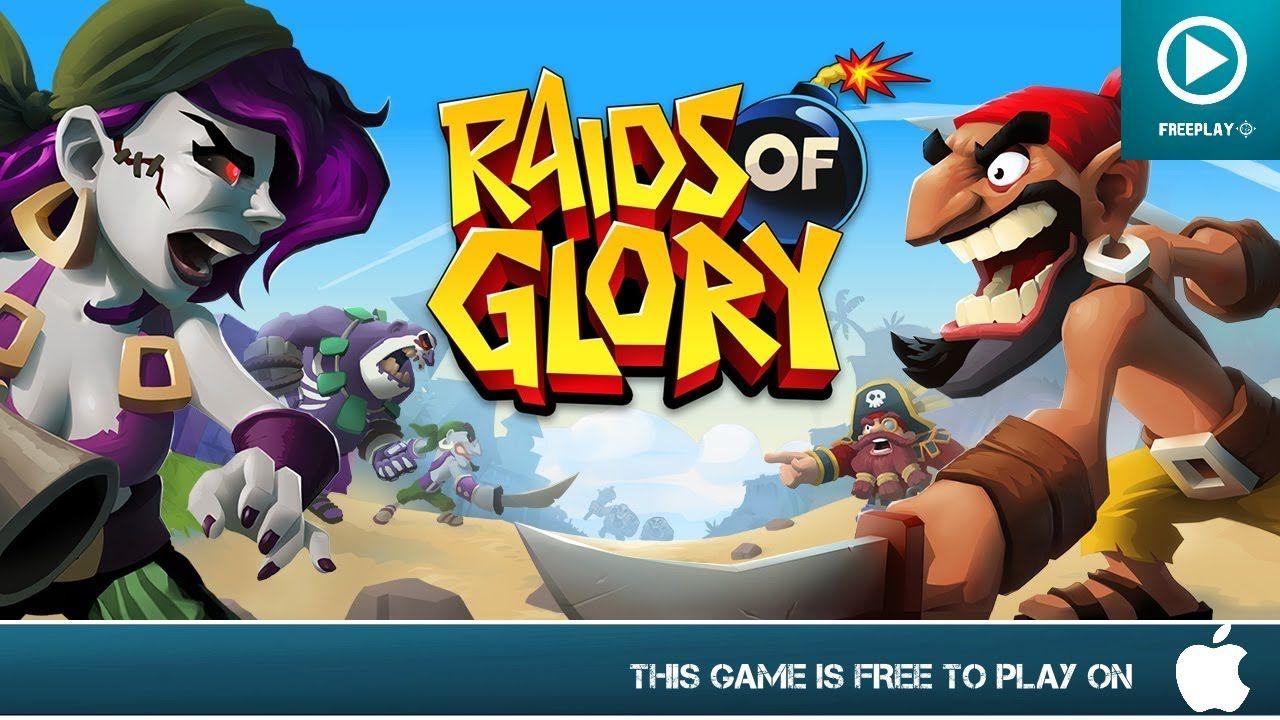 Raids of Glory Free On iOS Gameplay Trailer Now