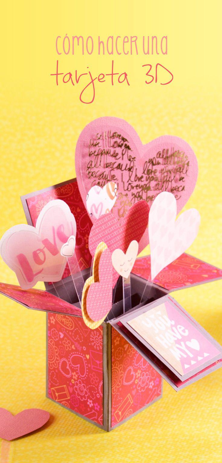 C Mo Hacer Una Tarjeta 3d Regalos Originales Eres Perfecto Y Tu  ~ Regalos Originales San Valentin