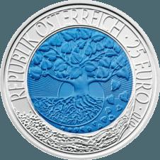 Silber Niob Münze Erneuerbare Energie Banknoten Münzen