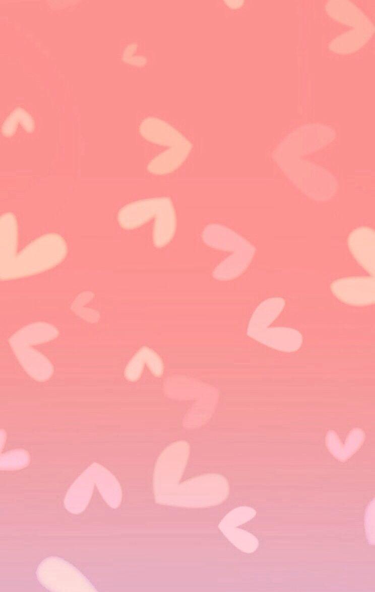 Wallpaper iphone soft -  Iphone Wallpaper Hearts Pink