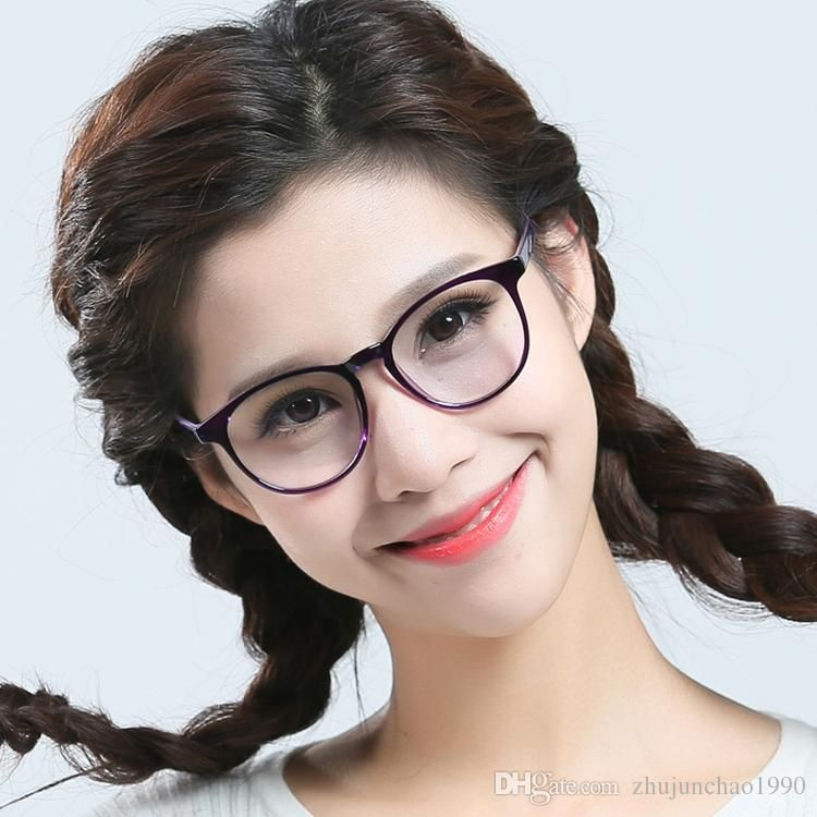 2018 Tr90 Eyeglass Frame Large Round Fashionable Ultra Light Spectacle Frame  Suitable For Small Face From Zhujunchao1990 18c8182e3