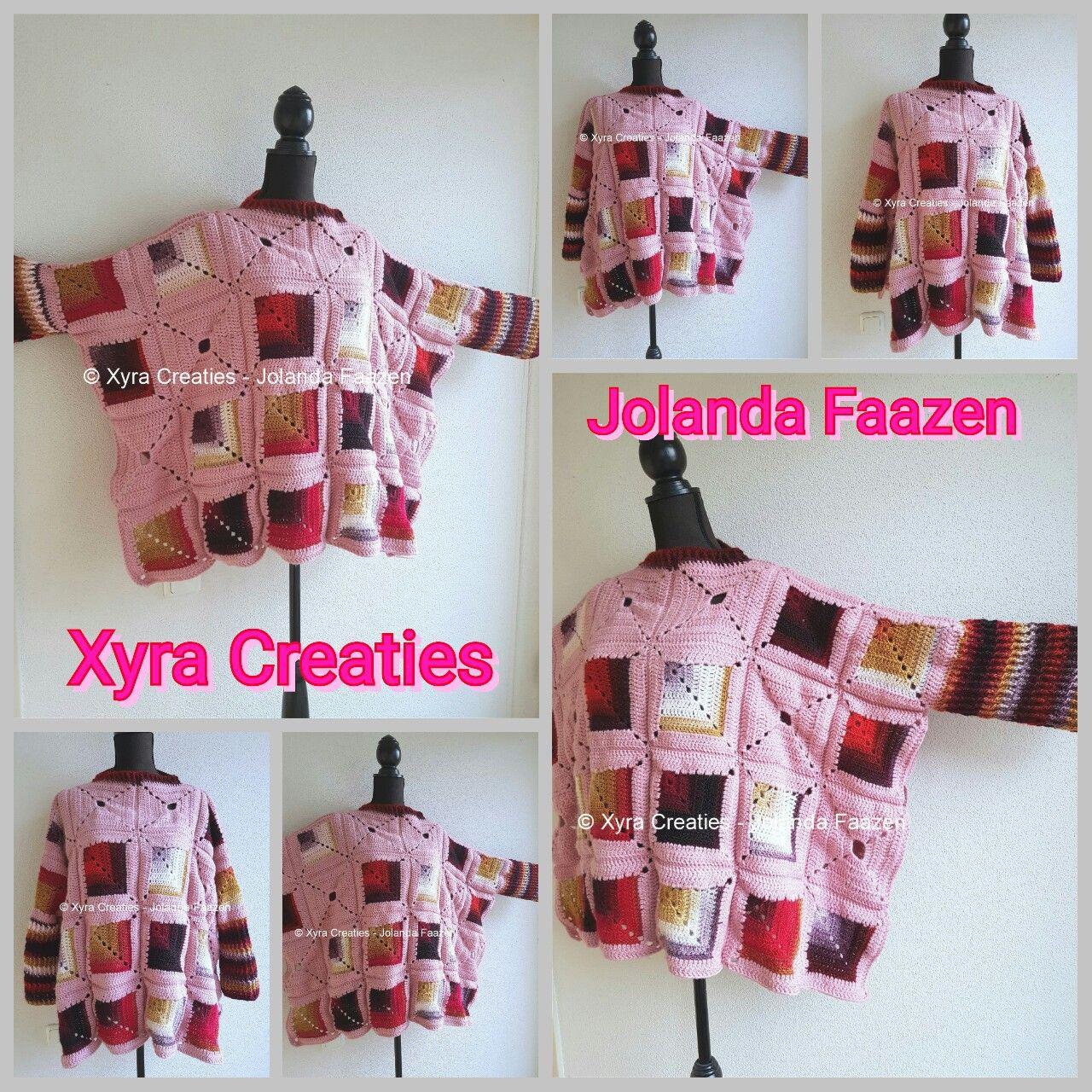 PATR1099 #haakpatroon #patroon #haken #gehaakt #crochet #pattern ...