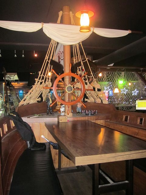 Restaurant Decoration Pirate : Pirate ship bar jungle gym ships and