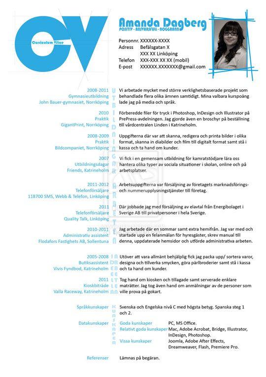 showcase of inspiring resume designs 2012 - Resume Design Inspiration