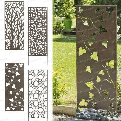 jardins animes panneau decoratif en metal 06m x 15m 470 470 jardin pinterest. Black Bedroom Furniture Sets. Home Design Ideas
