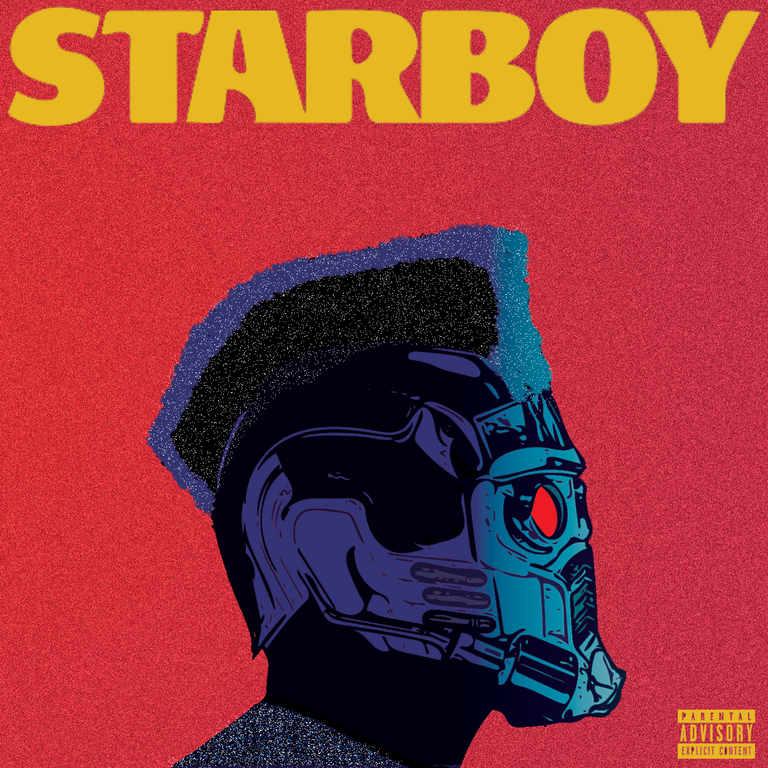 The Weeknd Starboy [1250x1250] freshalbumart The