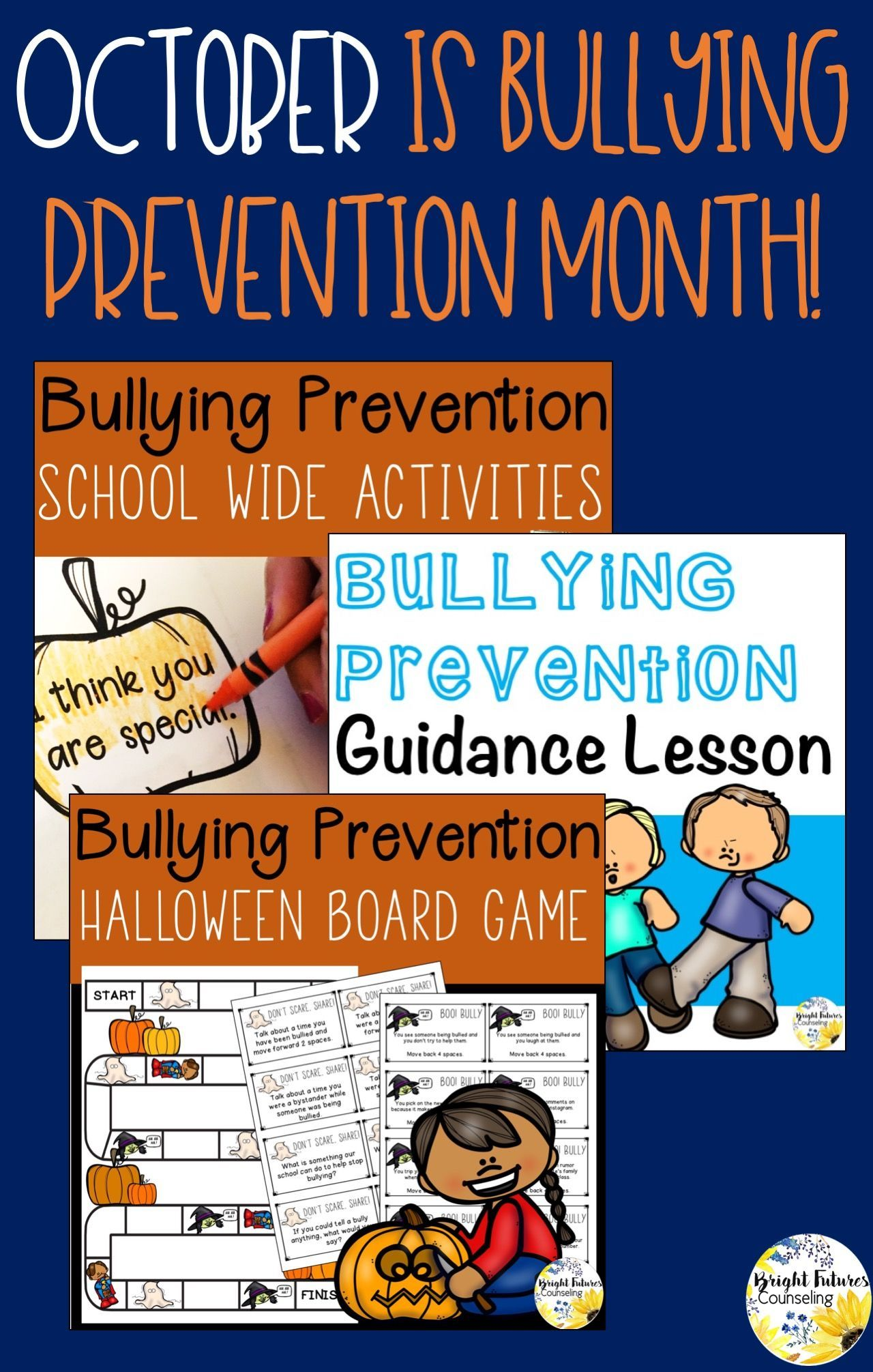 School Counseling October Bundle