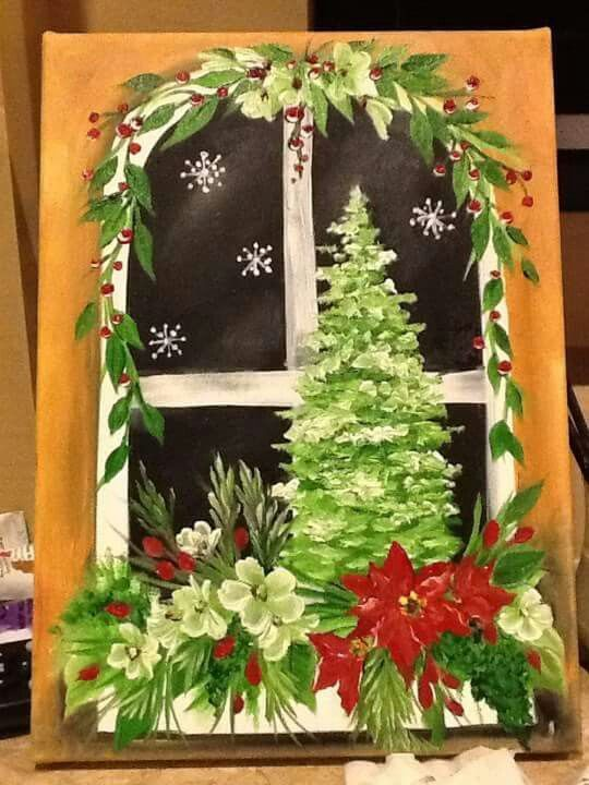 Pin By Maryann Stevens On Painting Christmas Paintings