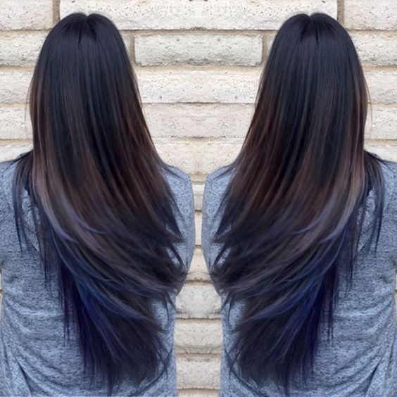Top 20 Hair Color Ideas For Brown Black Hair You Straight