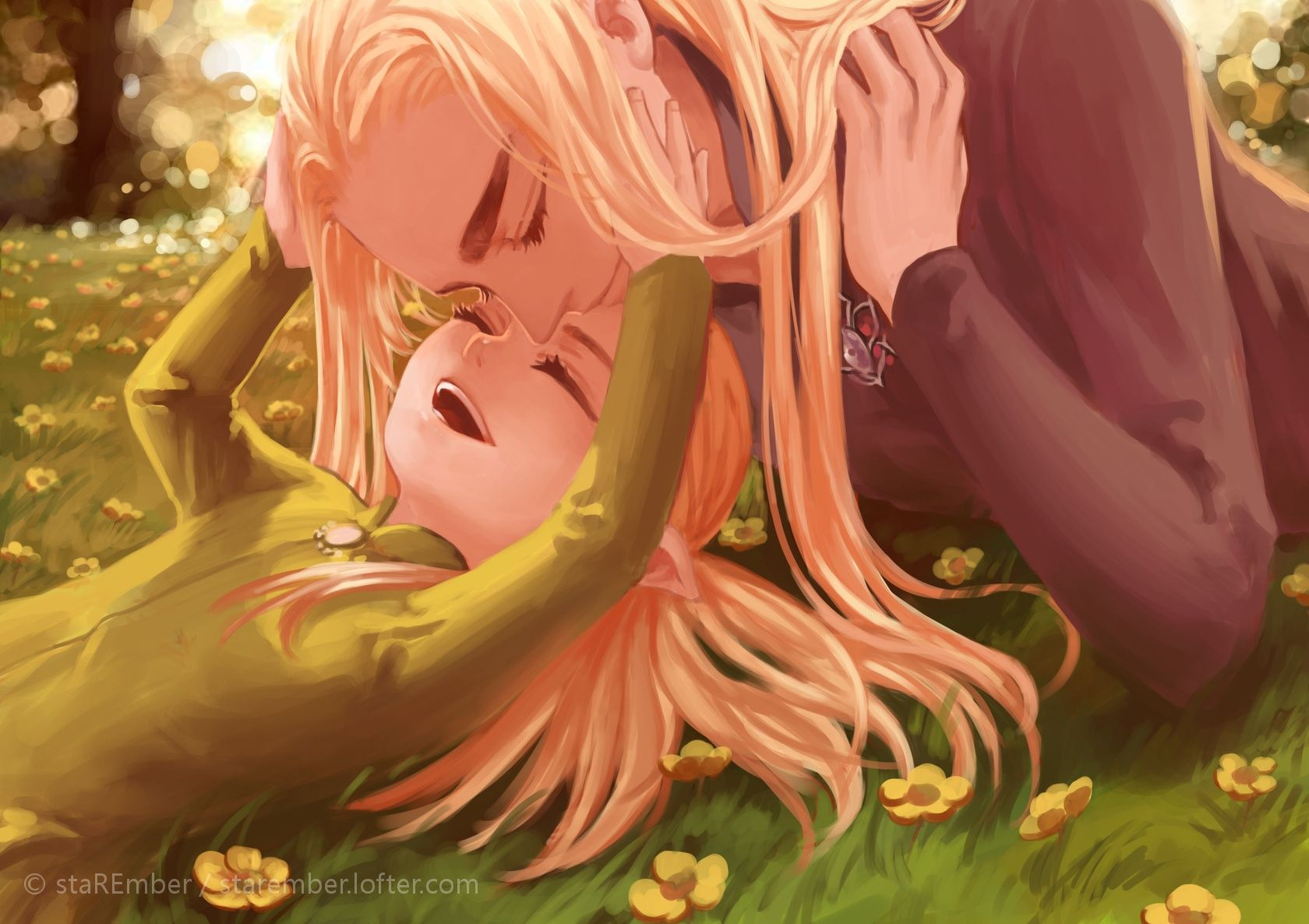 So cute a young child Legolas and his father AWW
