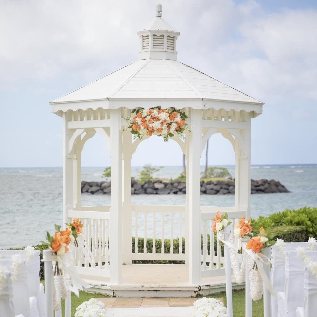 Waikiki Beach Wedding Ceremony: Honolulu Wedding, Wedding, Gazebo