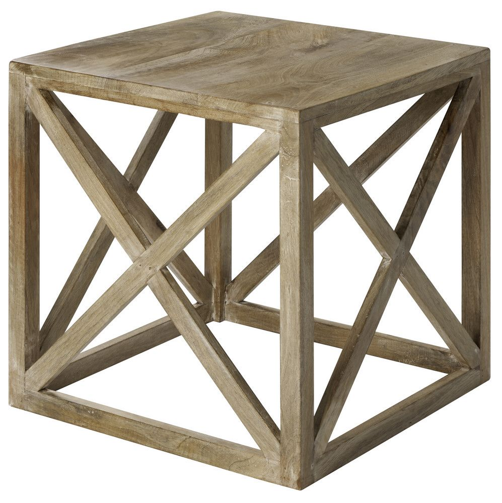 rustic side table - Google Search