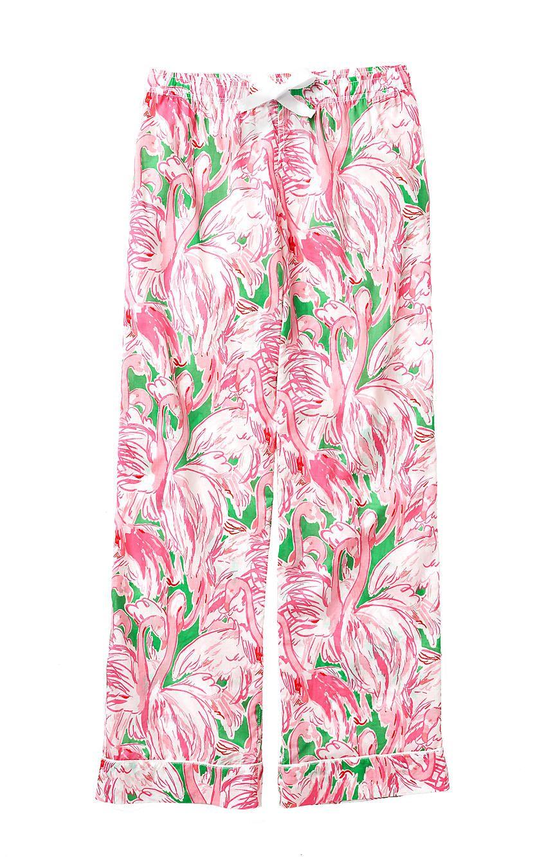 Printed Pajama Pant- Pink Colony | 17574318JB5 | Lilly Pulitzer ...