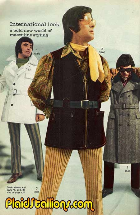 Vestiti Eleganti Anni 70.Captain Fancy Pants And His Electric Merry Men Moda Anni 70