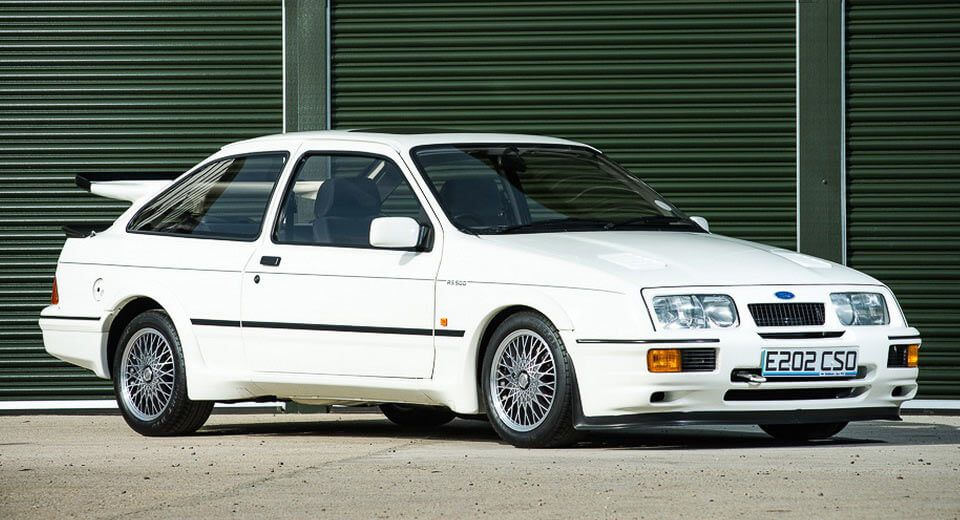 One Of The Lowest Mileage Ford Sierra Cosworth Rs500s Is Up For Sale Ford Sierra Ford Sierra