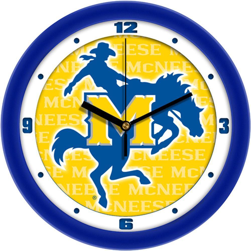 Mcneese State Cowboys NCAA Dimension Wall Clock