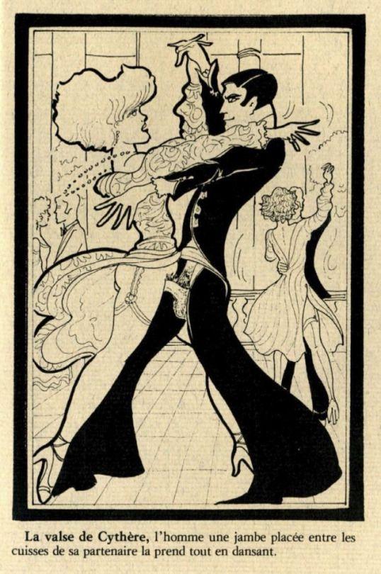 Old erotic drawings