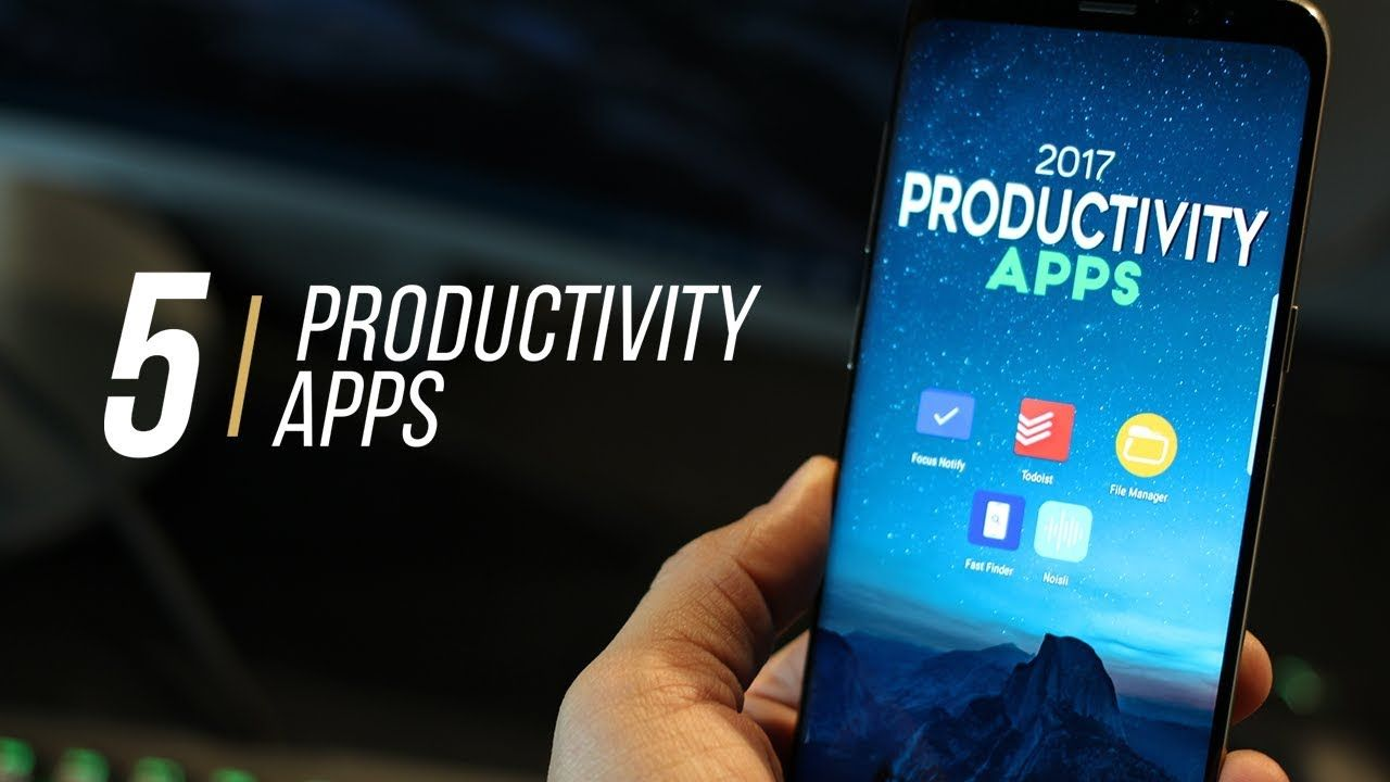 5 Best Android Apps to increase Productivity (2017) Best