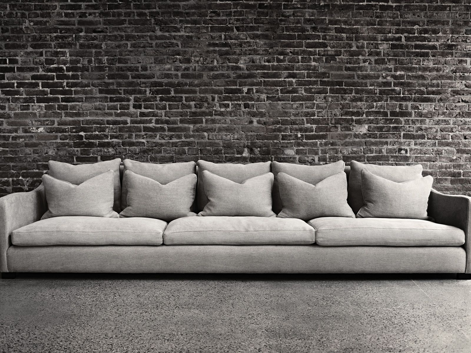 Montauk Sofa I lust over this sofa Love the skinny arms