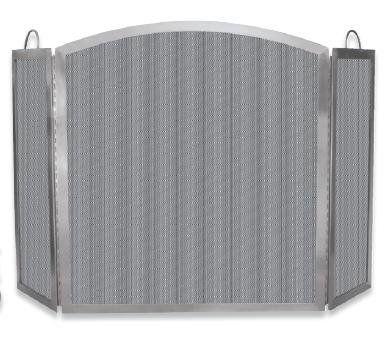 Uniflame Olde World Iron 39 In W Single Panel Fireplace Screen