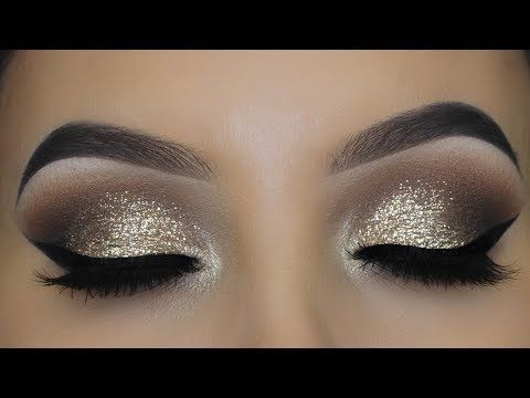 Classic Glitter Eye Makeup tutorial | Timeless Eyelook