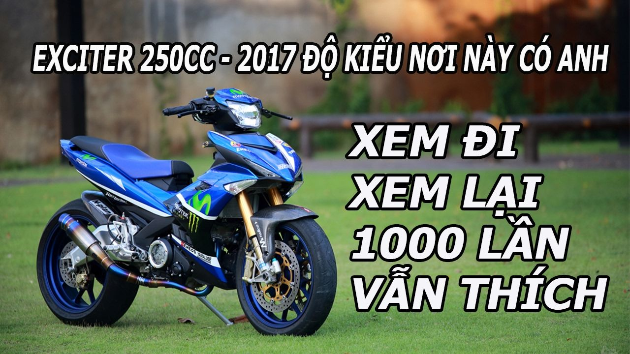 Yamaha Exciter 250cc 2017 Movistar Monster do kieu noi nay co anh