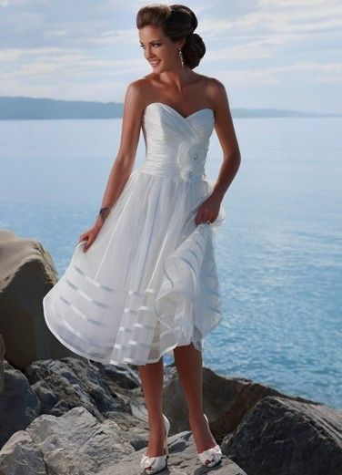 Wedding Dress General Description Quick Overview Dresses Gowns Stunning T Length Short With Sweetheart Neckline
