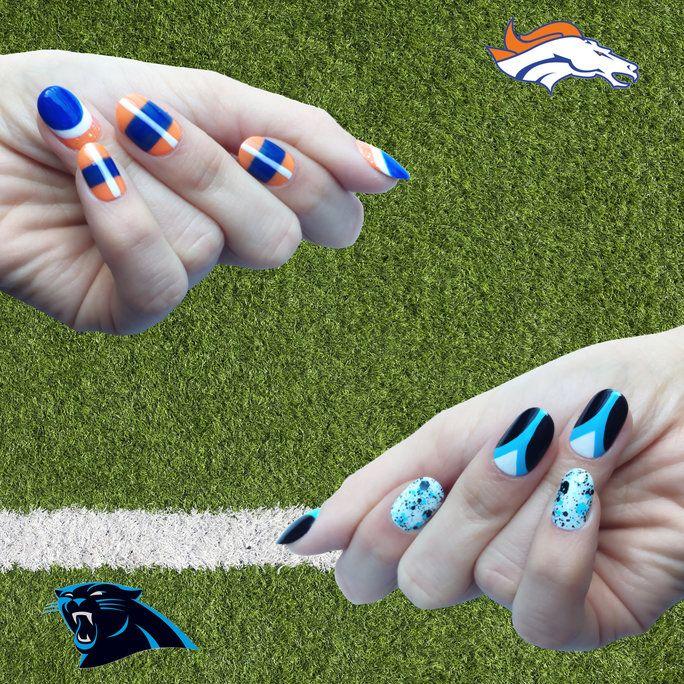 Lujo Diseños De Uñas De Super Bowl Viñeta - Ideas Para Esmaltes ...